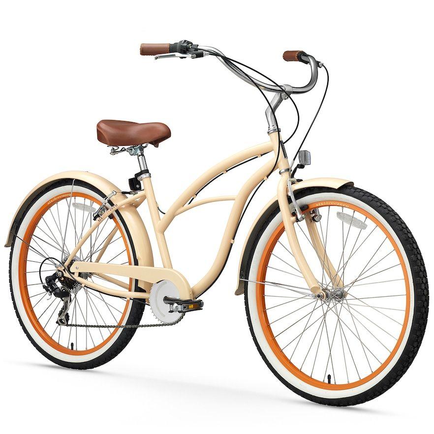 Women S Sixthreezero Scholar 26 Inch Seven Speed Beach Cruiser Bike In 2020 Beach Cruiser Bicycle Beach Cruiser Bike Beach Cruiser