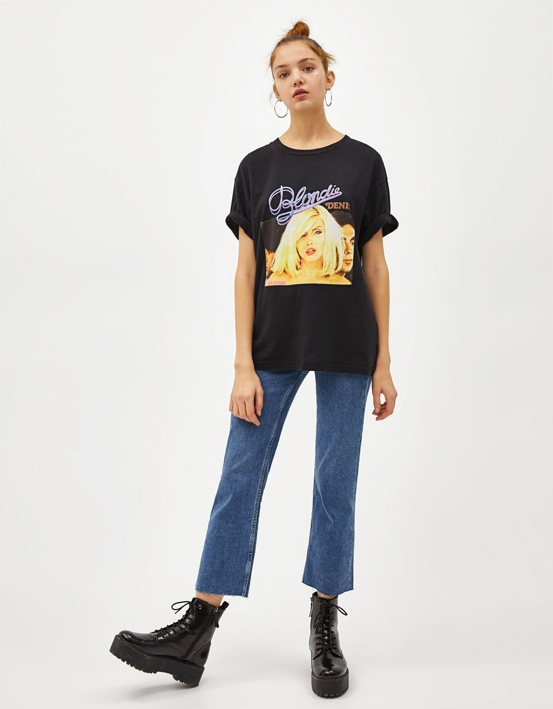 85eb262b Blondie T-shirt - Bershka #newin #new #fashion #clothes #trend ...