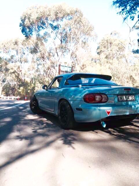 Crystal Blue Mx5
