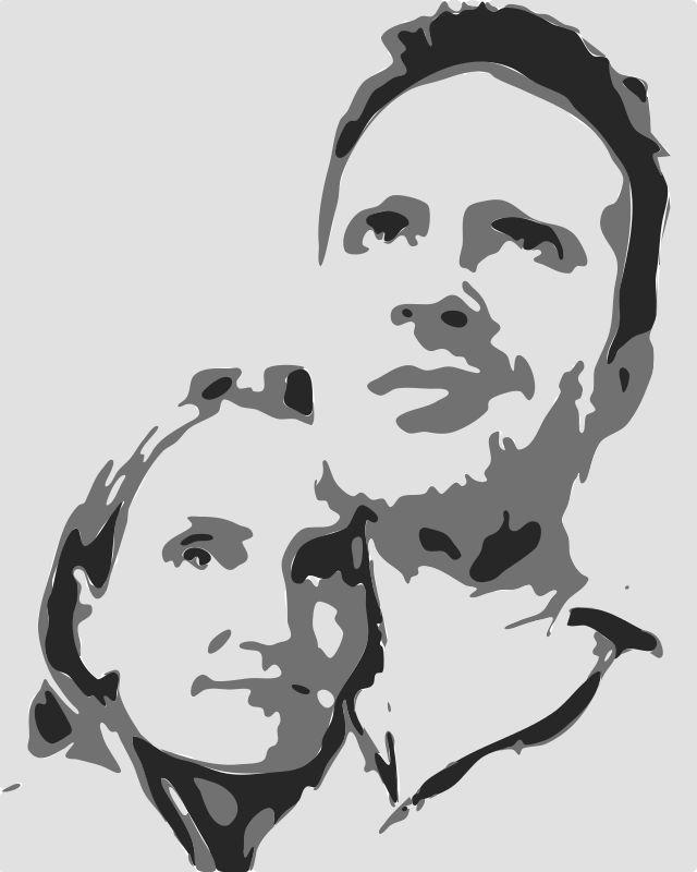 Turn A Photo Into A Stencil Drawing Pinterest Pochoir