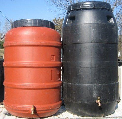 barrel project photou0027s 55 gallon plastic drum projects 55 gallon metal drum projects - Water Storage Barrels