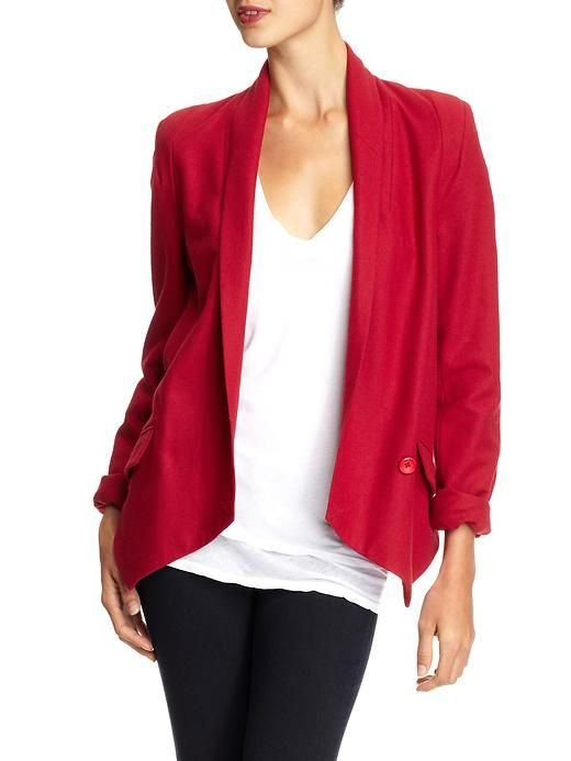 Aryn K. Blazer inspired by #Fergie--Bright color that's completely do-able. Shop DivaMall.tv