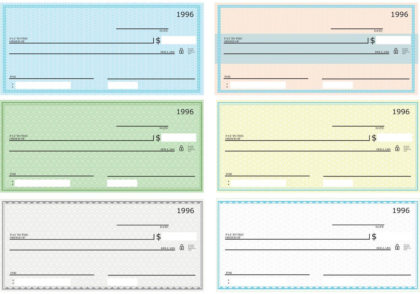 43 Fake Blank Check Templates Fillable Doc Psd Pdf Throughout Customizable Blank Check Template Callforpcis Printable Checks Blank Check Business Checks