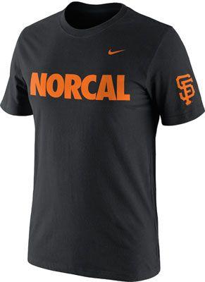 780f36a7 San Francisco Giants Black Nike Norcal Rivalry T-Shirt   Giants ...