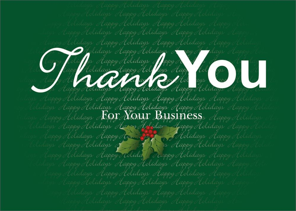 Business Appreciation Letter Christmas lettering