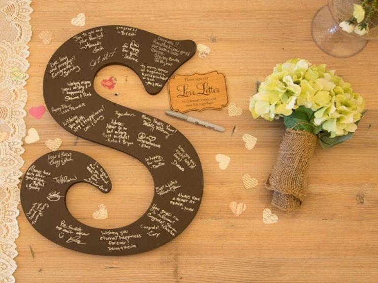 20 Alternative Wedding Guest Book Ideas