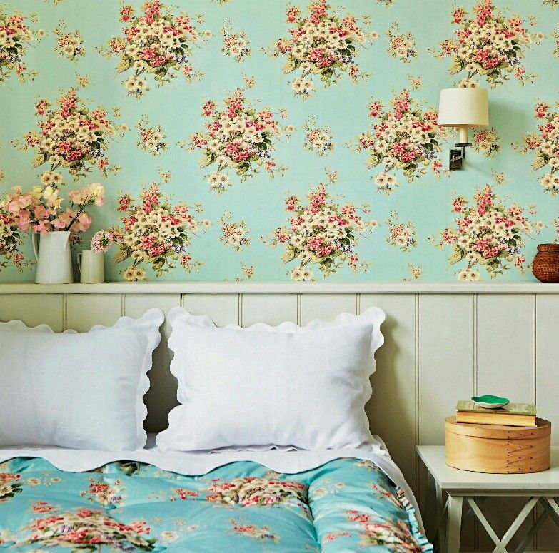 Flower Pattern English Home Magazine Floral Explosion Pinterest