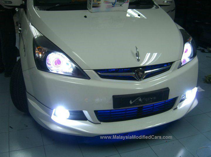 Modified Proton Exora 7 Seater Mpv Malaysia Modified Cars Protons Xenon Headlights Body Kit