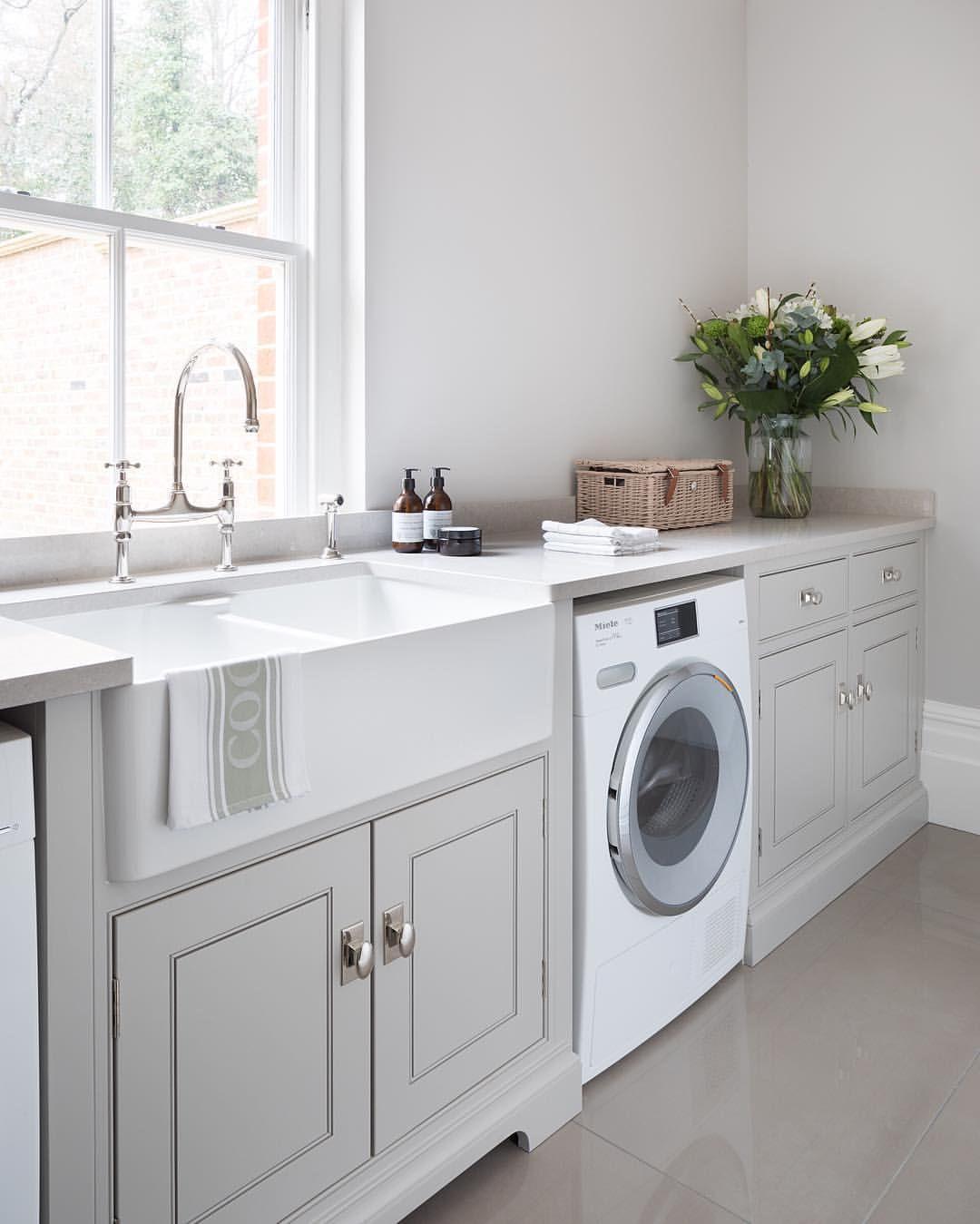 Washing Machine In Kitchen Design: Pin By Erica Ok On Basement Reno In 2019