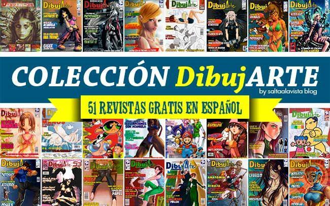 Coleccion Dibujarte 51 Revistas De Dibujo Gratis En Pdf Dibujos Gratis Dibujarte Libros De Dibujo Pdf