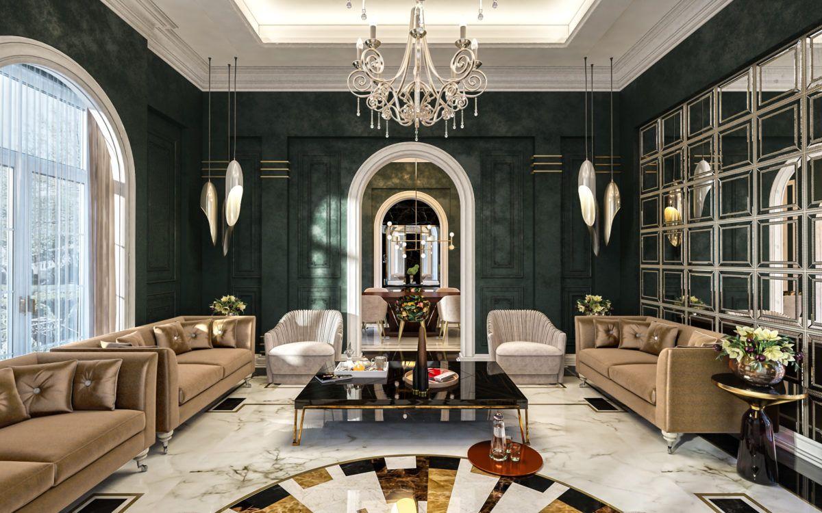 Female Majlis In Qatar Commercial Interior Design Residential