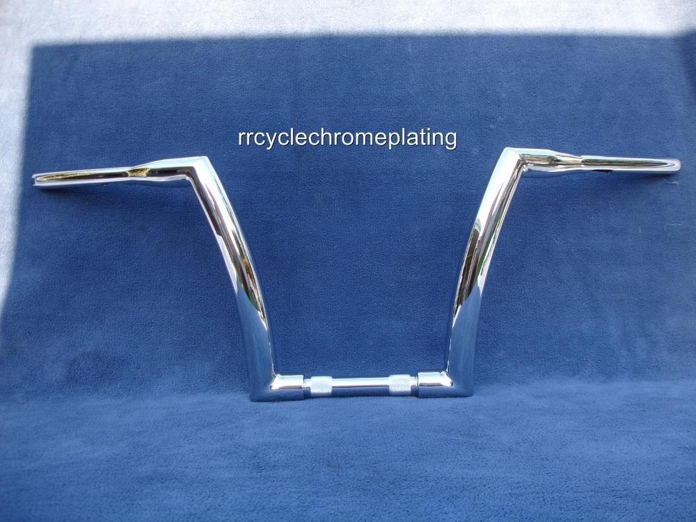 """Chrome Apes Ape Hanger Bars 7//8/"""" Handlebars For Harley Custom Chopper Bobber"""