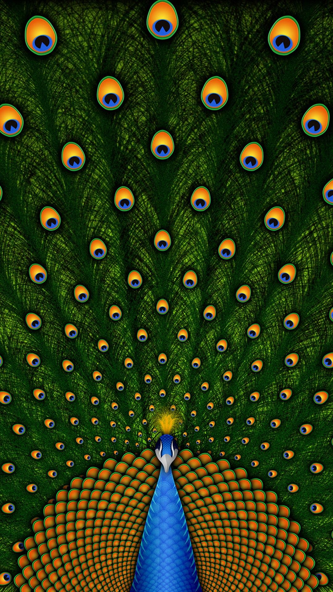 Peacock Cute Girly Wallpaper For iPhone Best HD