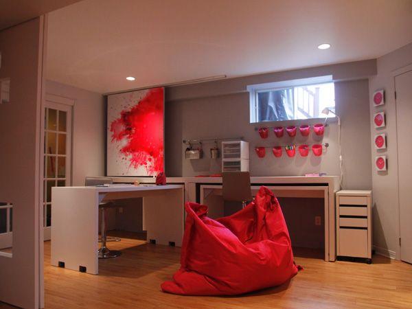 Sous sol clement pinterest sous sols bureau sous - Idees chambre designmodeles surprenants envoutants ...