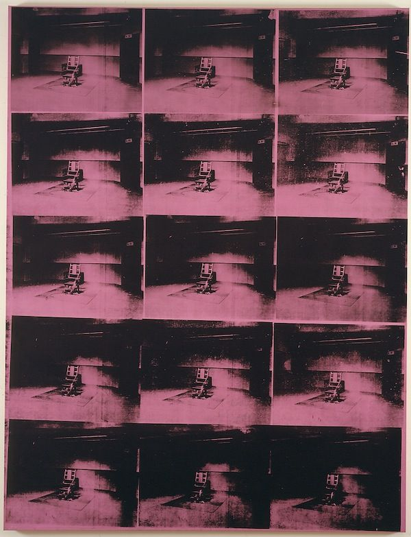 "The Sound (and the Look) of Silence at The Menil Collection :: ""Lavender Disaster"" (1963) by Andy Warhol"