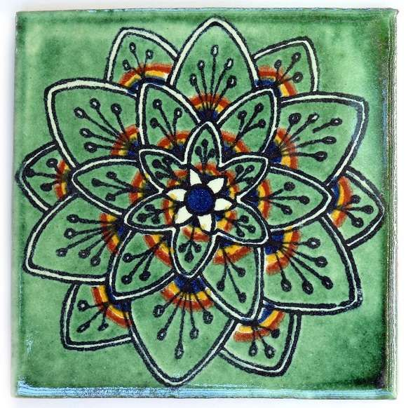 Ceramic Floor Tile Designs spanish tile | spanish tiles mexican antique talavera mexican