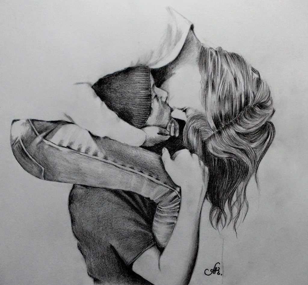 Imagenes De Amor Para Dibujar 2 Jpg 1024 946 Cute Couple Drawings Sketches Of People Couple Drawings