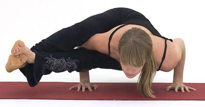 yoga arm balances for intermediate to advanced practice
