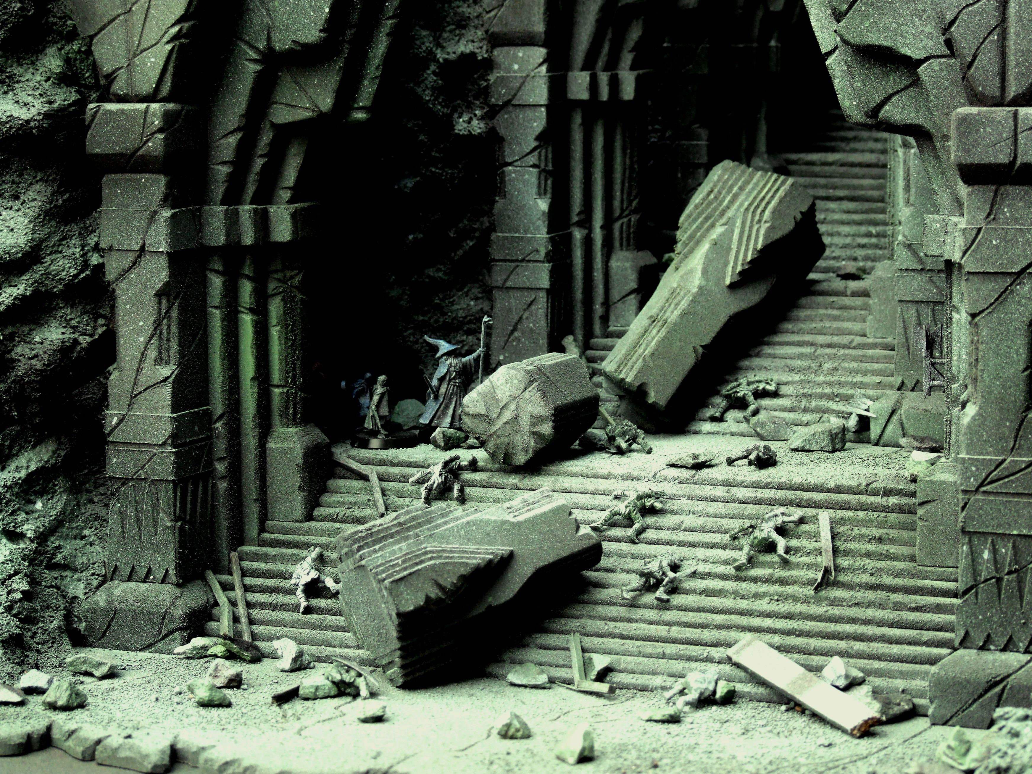 Escape Tower Of Moria Lonelysquare Wargaming Terrain Fantasy Dwarf Lord Of The Rings