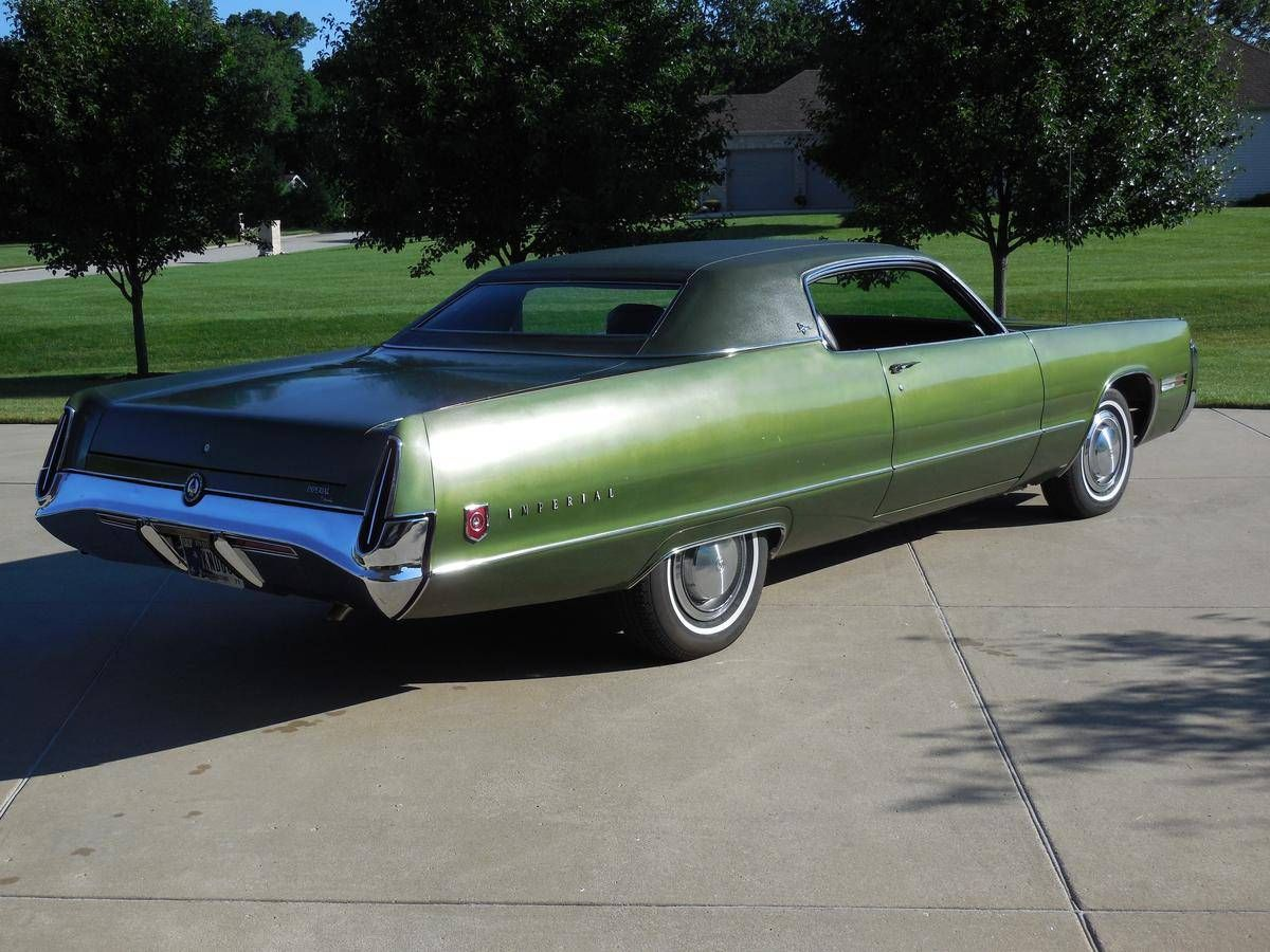 1972 Imperial Lebaron 2 Door Hardtop Coupe Chrysler Imperial