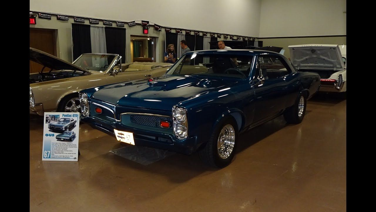 1967 Pontiac GTO Hardtop Custom Modified in Teal Blue Metallic on My Car Story with Lou Costabile