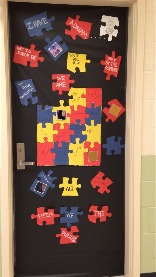 Black History Month Door Decoration For Our Autism Classroom Door