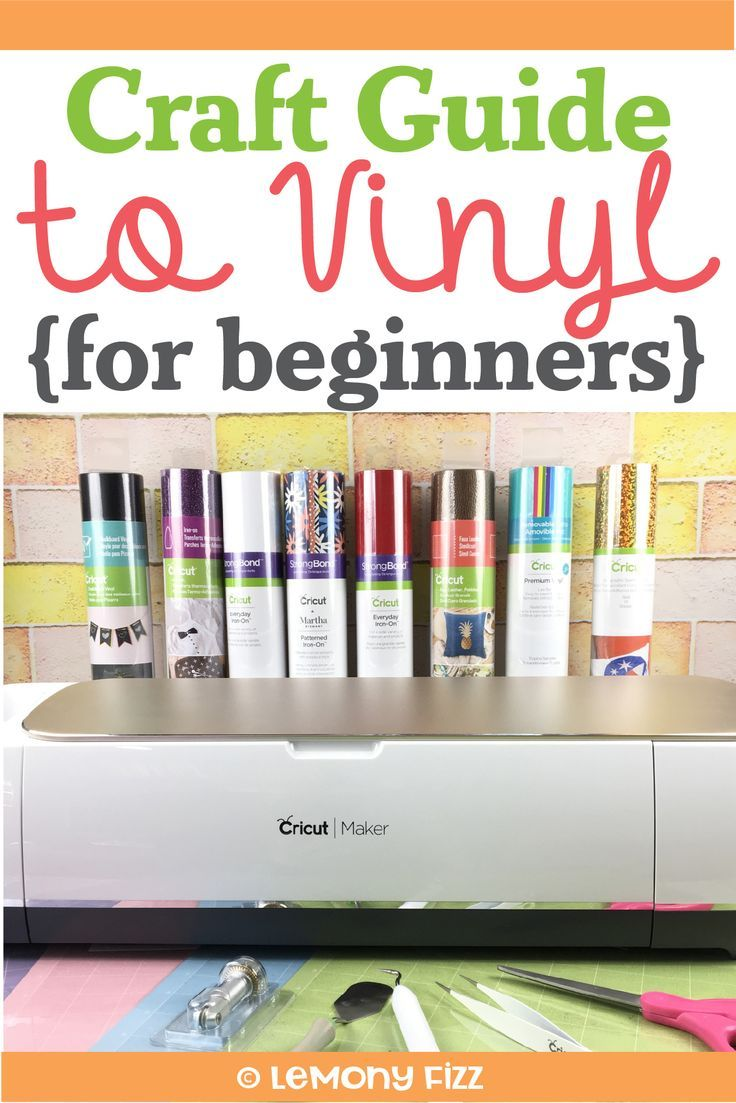 Vinyl for Crafts: A beginner's guidebook