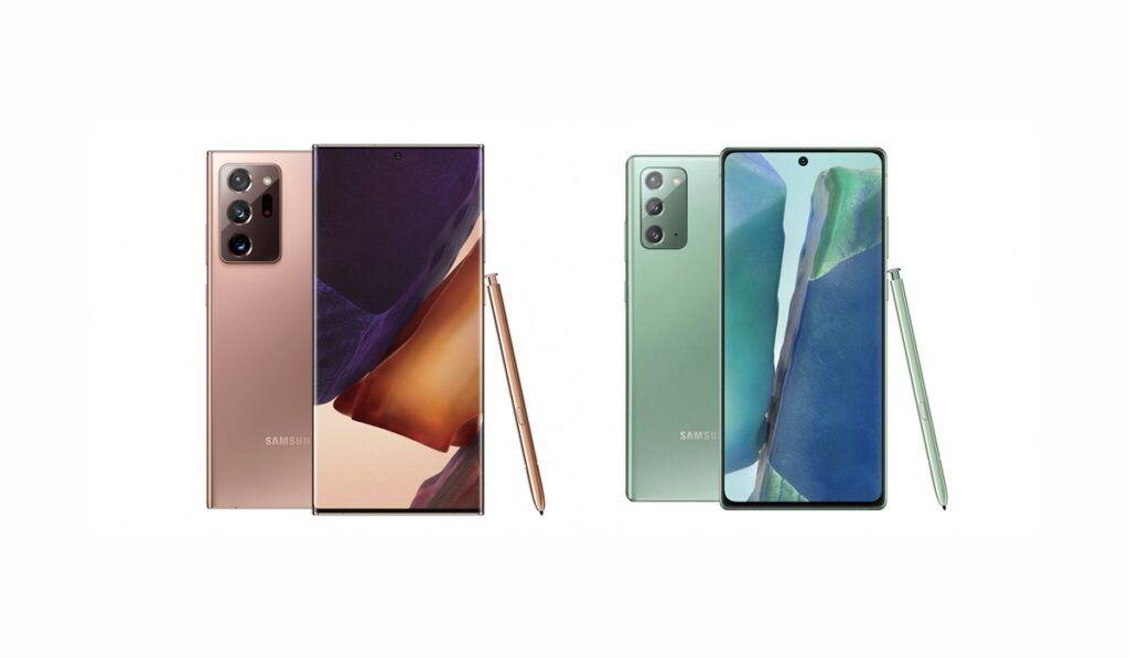 مقارنة بين سامسونج جالاكسي نوت 20 ونوت 20 الترا ما هو الفرق بينهما In 2020 Smartphone Galaxy Electronic Products