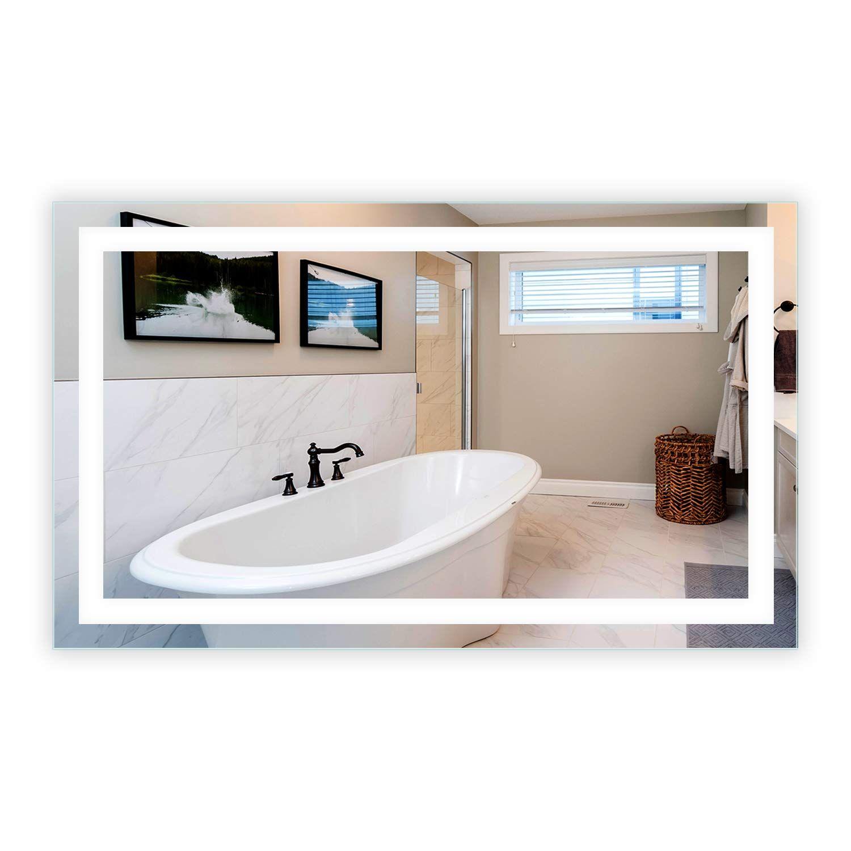 LED FrontLighted Bathroom Vanity Mirror 60 Wide x 36