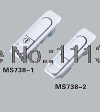 MS738 Push To Open Latch Push Button Lock Electric Box Plane Lock Switch  Cabinet Door Lock
