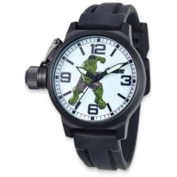 Review Marvel Hulk Left Hand Crown Black Rubber Strap Watch new - From the Marvel Hulk Collection this teens watch features a large Hulk character dial with a black rubber strap. This watch features a left handed protected crown large numbered and marked dial and a 42mm alloy case that is the perfect watch for the...