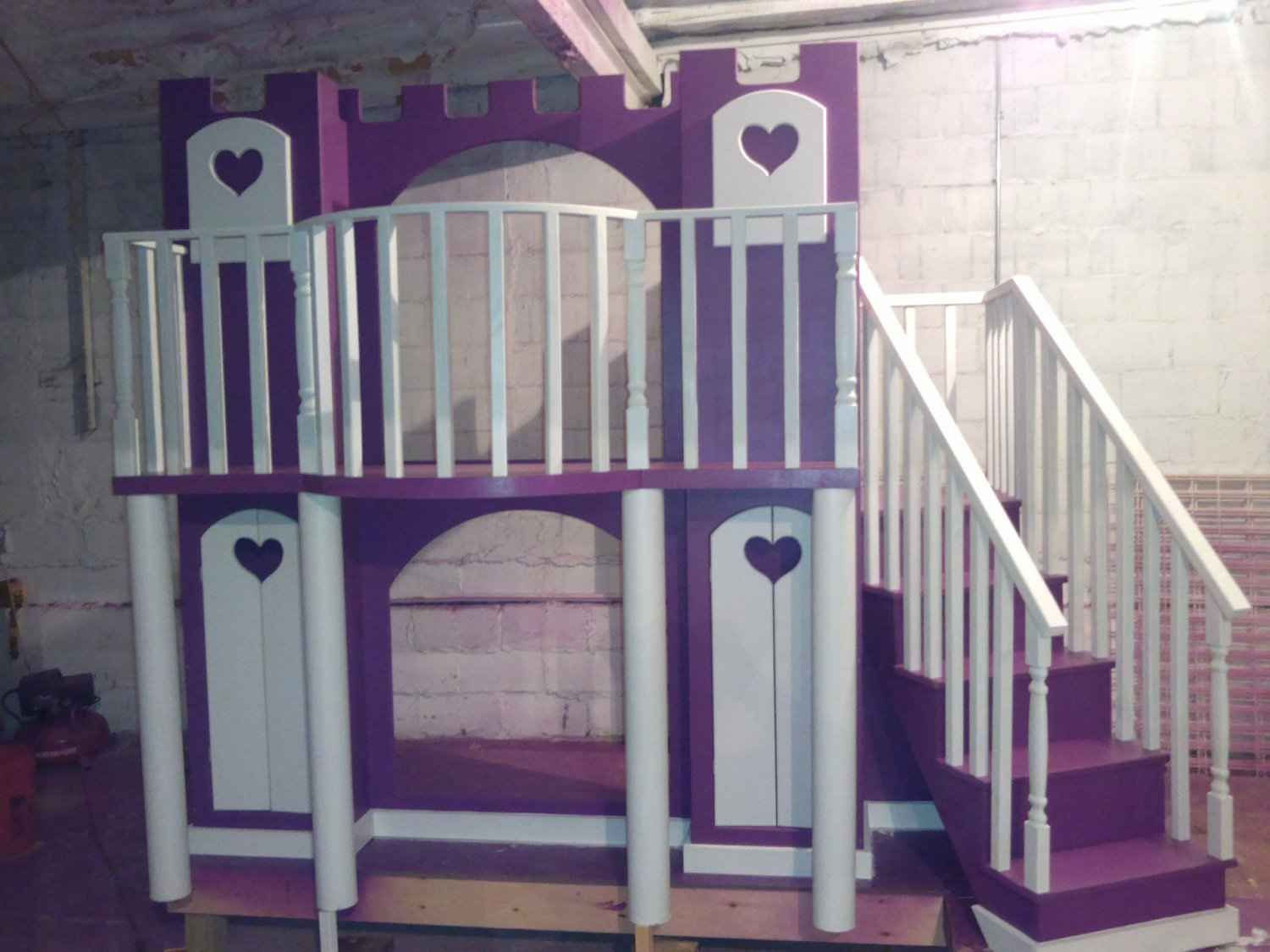 Bedroom furniture for girls castle - Girls Loft Bed Beds For Girls Marvelous Deluxe Loft Castle Beds For Girls Absolutely Beautiful