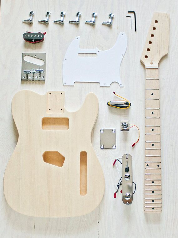 build-your-own guitar kit 2, via etsy