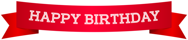 Happy Birthday Banner Red Png Clip Art Image Happy Birthday Clip Art Happy Birthday Banners Birthday Banner
