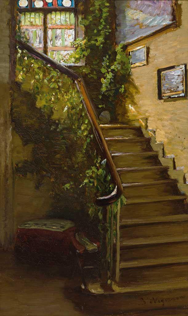 Le Treppenaufgang treppenaufgang in großbürgerlichem haus bertha wegmann