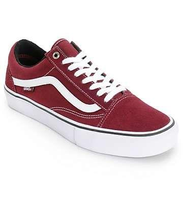8e163e25998 Vans Old Skool Pro Skate Shoes (Mens)
