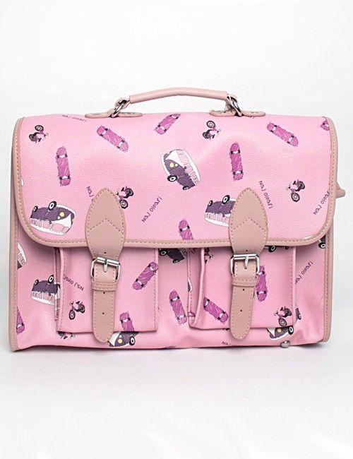 Naj-Oleari Limited Edition Bag Big pink