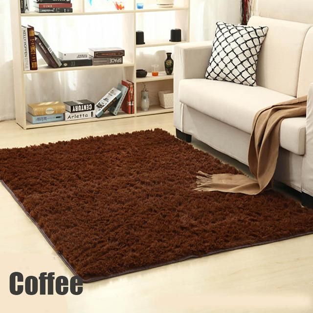 Soft Shaggy Carpet For Living Room European Home Warm Plush Floor Rugs  Fluffy Mats Kids Room