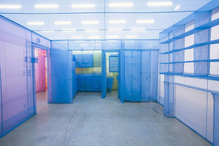 mymodernmet:  Korean artist Do Ho Suh's colorfully transparent replication of his NYC apartment, on display at the Contemporary Austin until January 11, 2015, marks the end of his Home series.