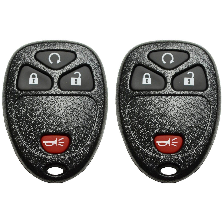 Qualitykeylessplus 2 4 Button Remote Start Key Fob Replacement For Fcc Id Kobgt04a Keyless Entry Free Keytag Be Su Key Fob Replacement Remote Start Keyless
