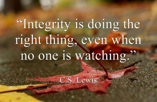 Quotes About Integrity Tumblr Integrity Quot