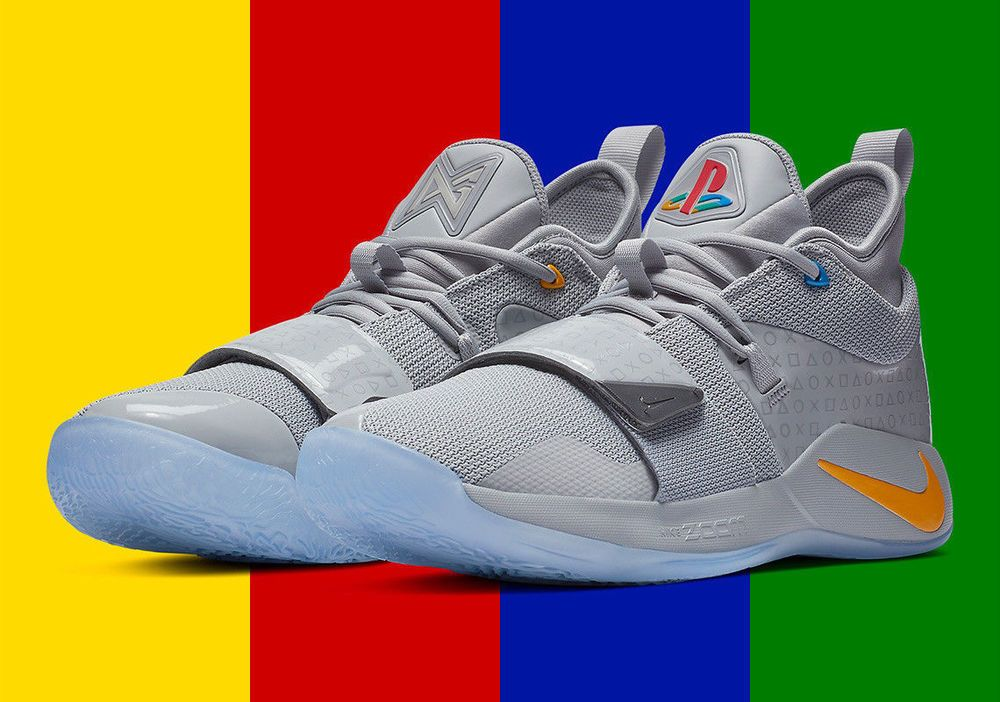 promo code f5a19 72cce Details about PlayStation x Nike PG 2.5 BQ8388-001 Wolf Grey ...