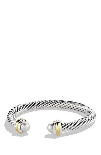 Women S David Yurman Cable Clics Bracelet With Semiprecious
