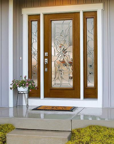 ODL Renewed Impressions Decorative Door Glass & ODL Renewed Impressions Decorative Door Glass | Exteriors ...