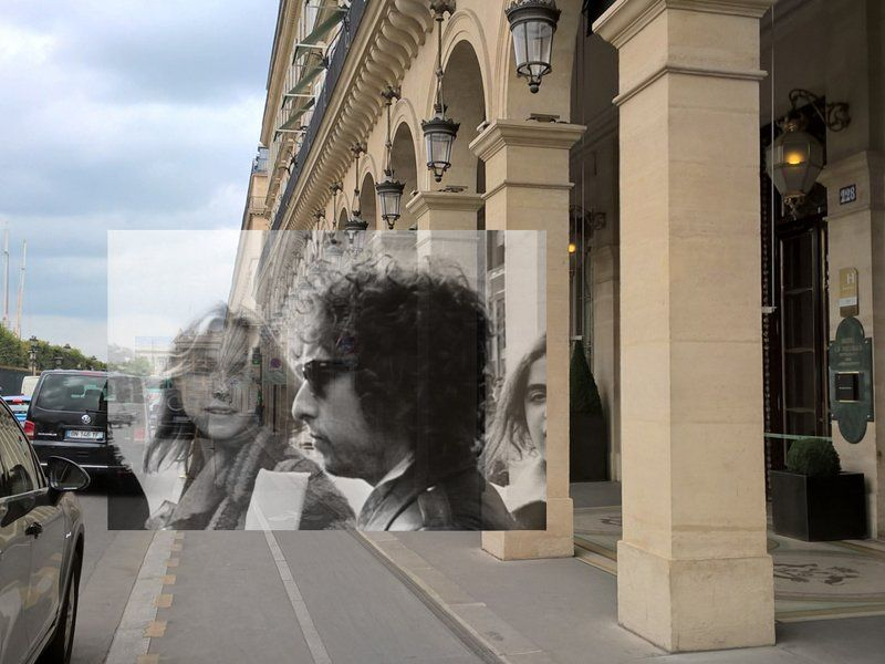 "Bob Egan op Twitter: ""BOB DYLAN EXITS THE HOTEL MEURICE, PARIS (around July 3-6, 1978)"