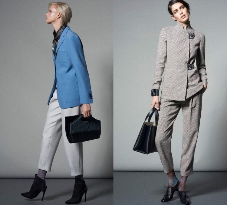 Tailleur pantalon veste femme chic
