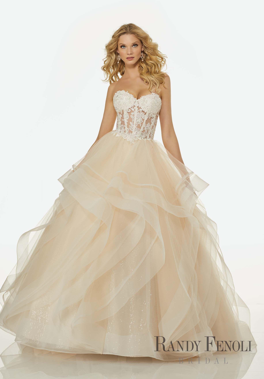 Randy Fenoli Bridal, Rebecca Wedding Dress Style 3413