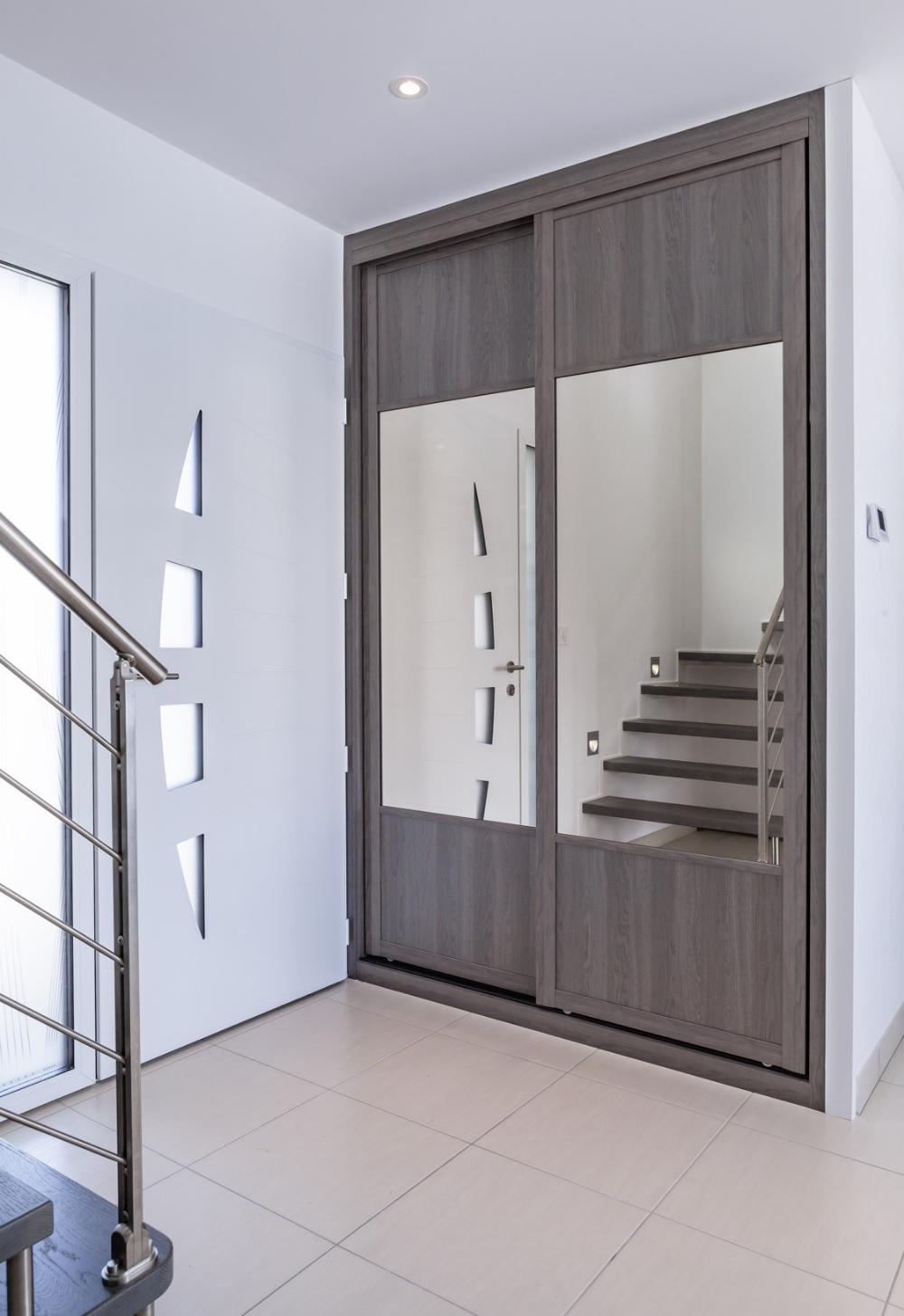 Deco Porte De Placard deco porte coulissante placard recoupable portes