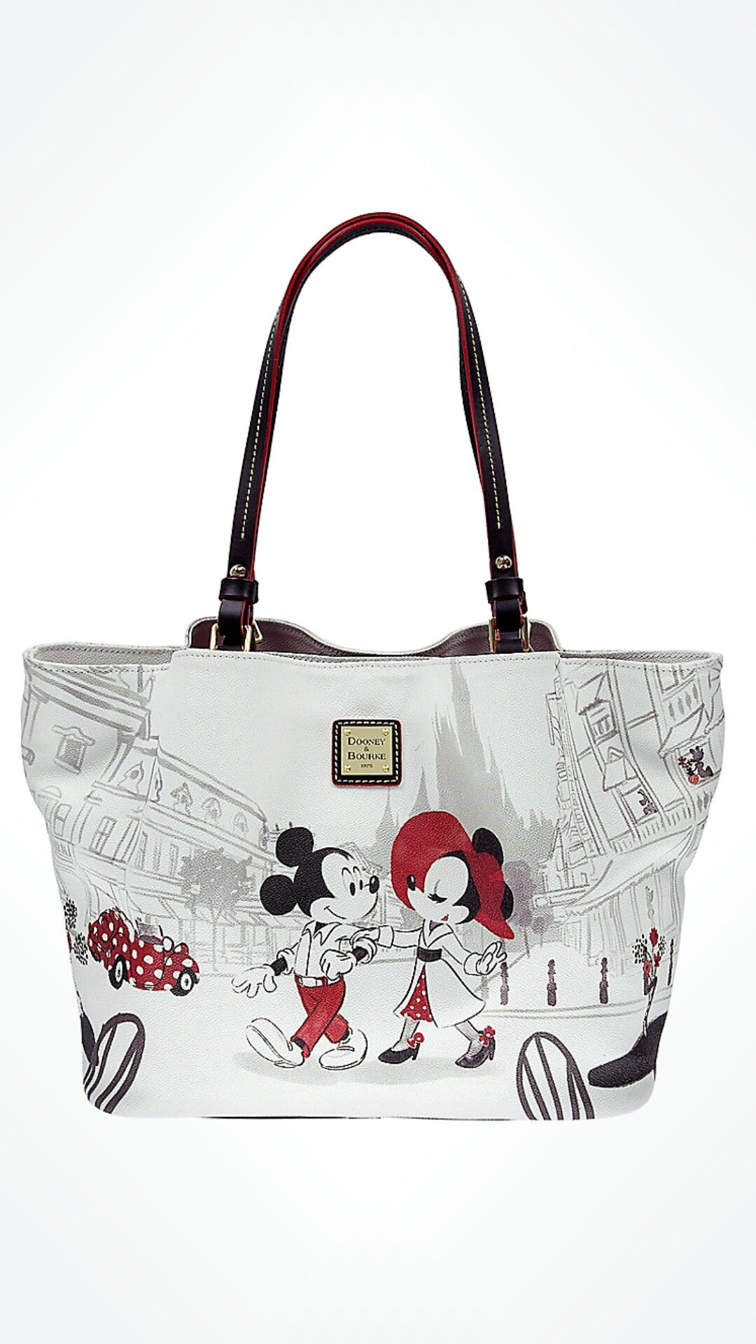 c51e08879883 Minnie Cafe Tote by Dooney   Bourke Just in time for Valentine s Day!  Released on February 13