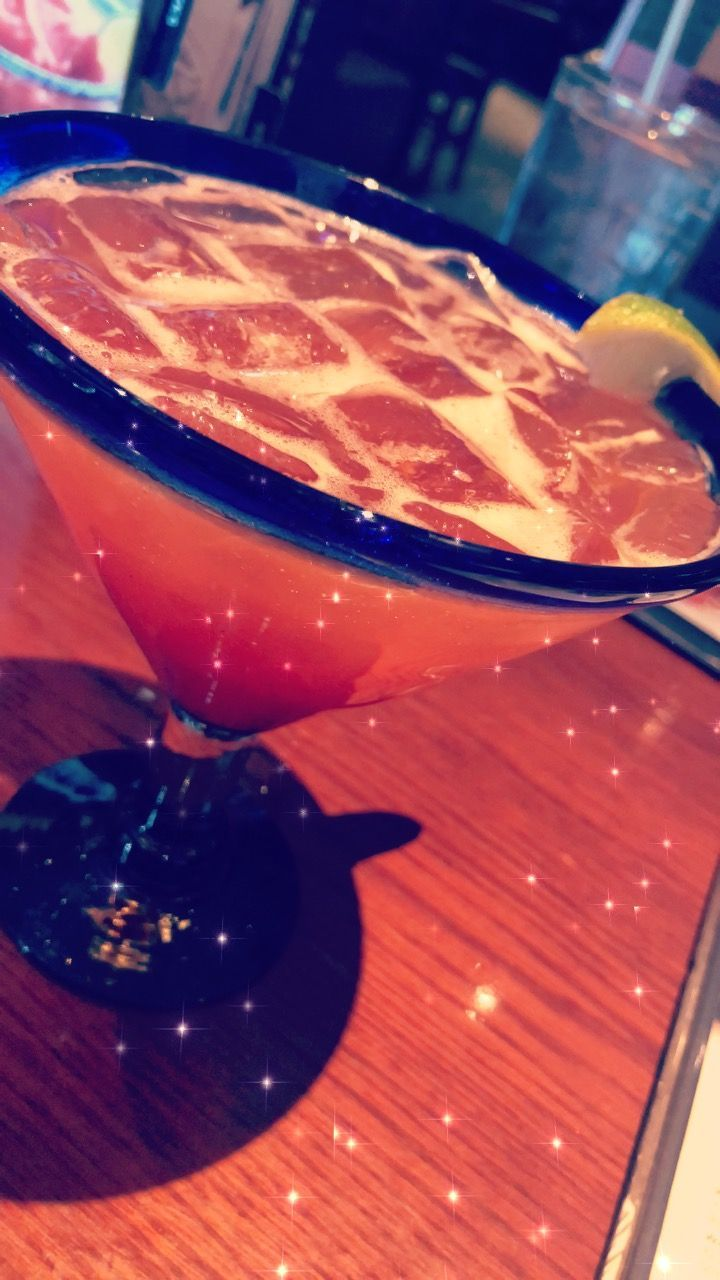 Strawberry Hennessy Margarita x Red Lobster
